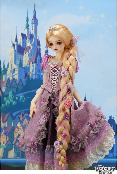 ... Dollfie Graffiti Special customized Model 『Rapunzel』… | Flickr: https://www.flickr.com/photos/98878668@N04/10490408896
