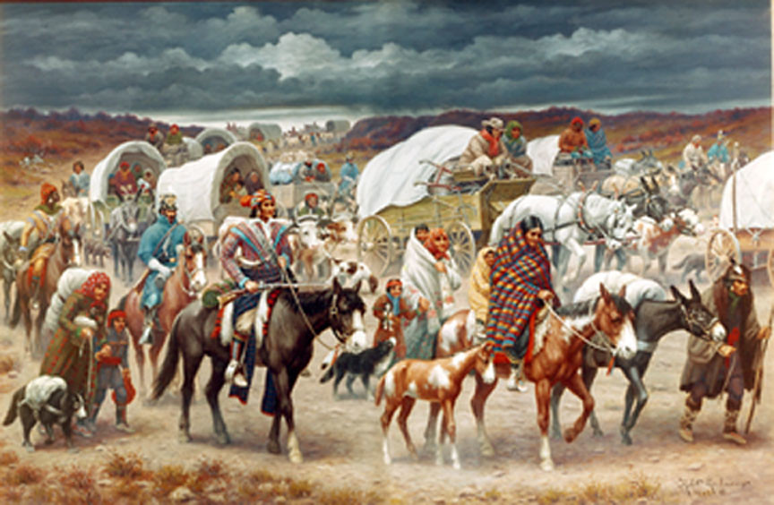 an overview of the infamous cherokee war in the 1700s In the late 1700s, white settlers broke many of the treaties previously agreed upon with the cherokee this caused some indians to break from the cherokee nation and move west of the mississippi to arkansas and missouri.