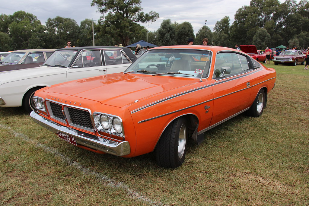1977 Chrysler Charger Cl 770 Impact Orange The Cl