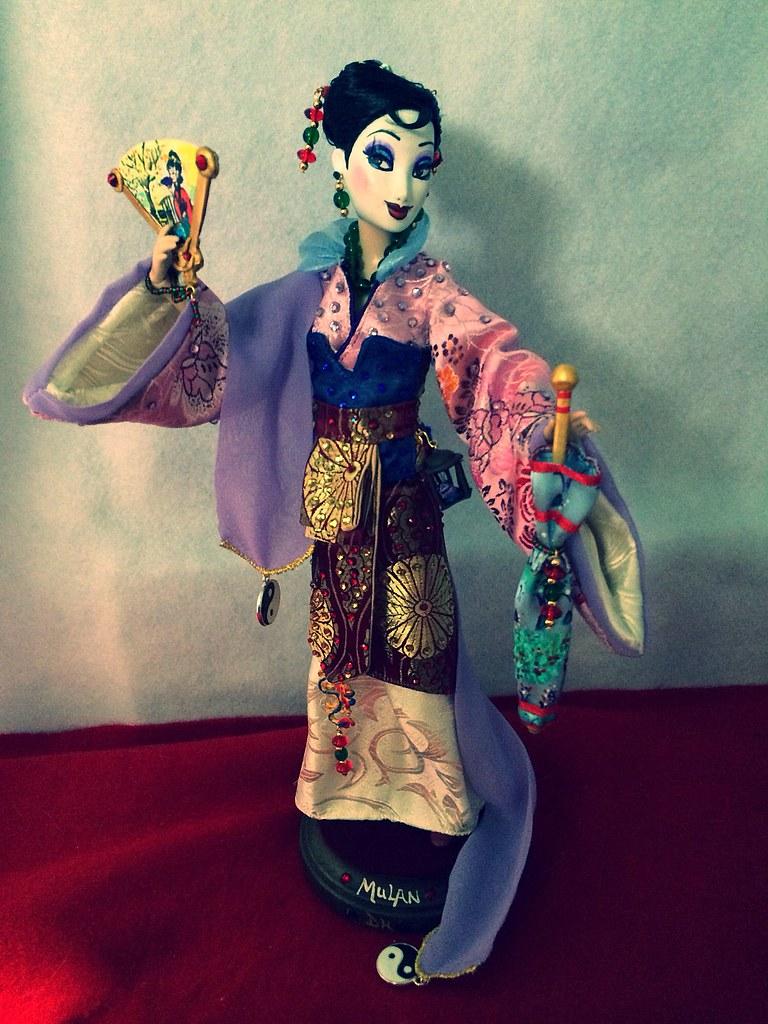 My Disney Store Custom Ooak Mulan Doll Yay I Finally