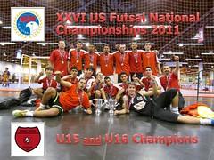 u15 and u16 boys champions nationals 2011