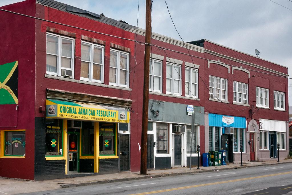 300 block edgewood ave se view01 atlanta ga usa flickr for Auburn caribbean cuisine