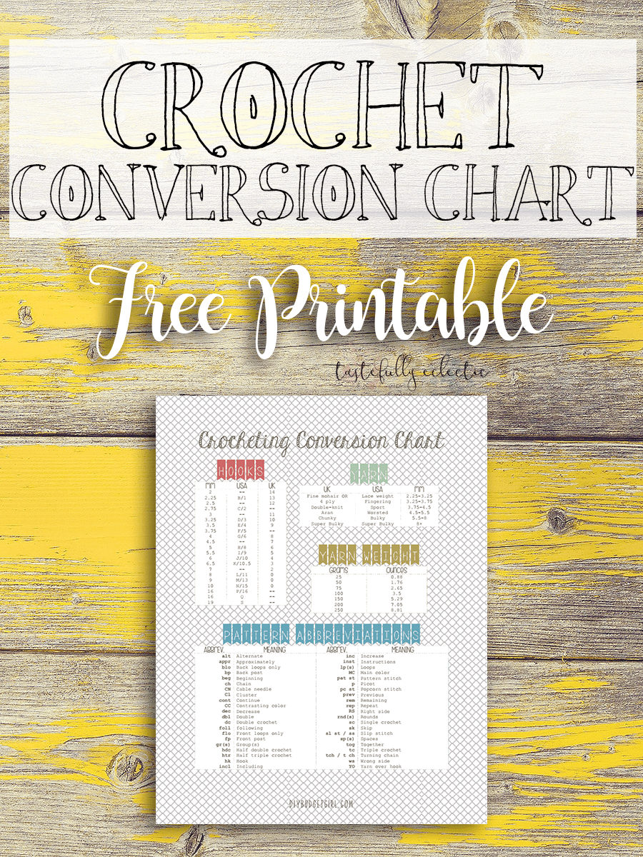 Crochet conversion chart free printable tastefully eclectic crochet conversion chart features nvjuhfo Image collections