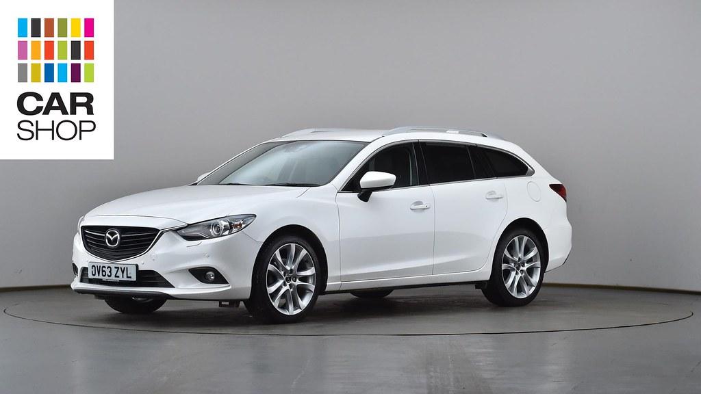 Mazda Millenia White Snow Milly Logbook: OV63ZYL-used-MAZDA-MAZDA6-DIESEL-TOURER-2-2d-175-Sport-Nav