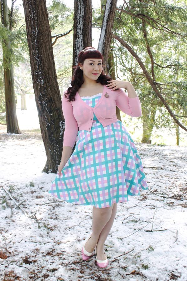 collectif pastel dress