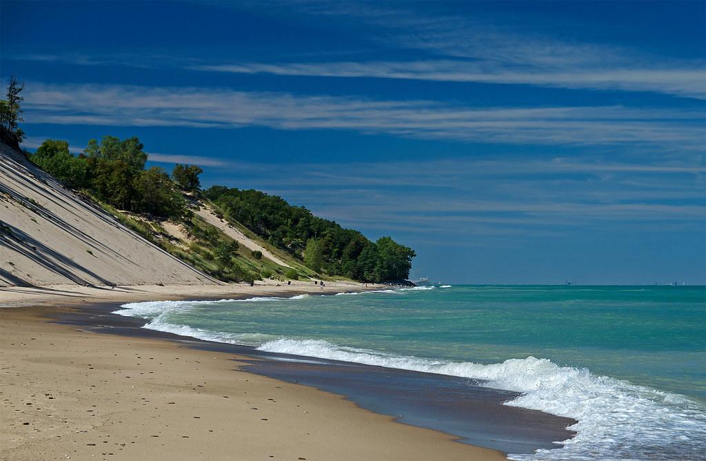 Beaches Of Michigan City Indiana