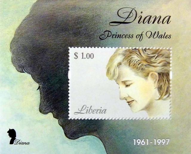 Princess diana commemorative strip