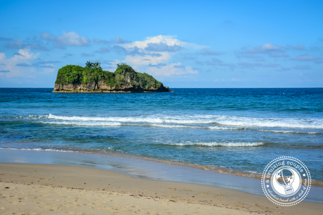 Playa Del Cocles Island