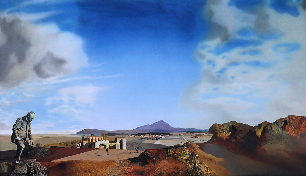 Salvador Dali The Chemist Of Ampurdan In Search Of Absol