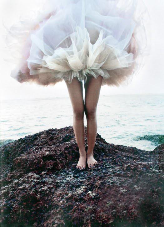 falda tul mar