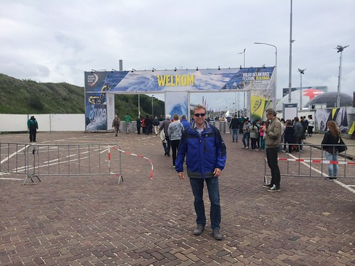 Entrance of the Volvo Ocean Race