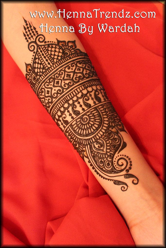 henna on arm by hennatrendz henna by wardah mehndi. Black Bedroom Furniture Sets. Home Design Ideas