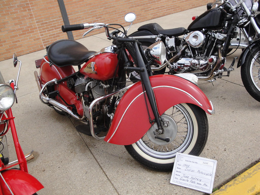 48 Indian Motorcycle - The weather and gas prices did not he