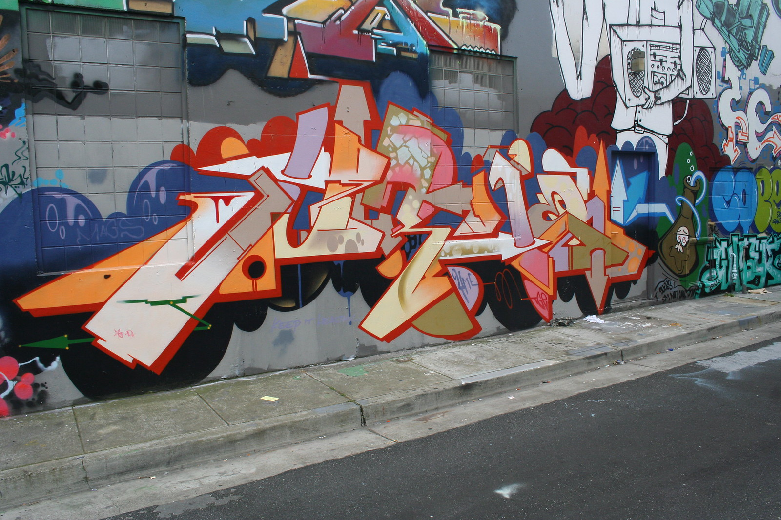 Jurne Graffiti in San Francisco