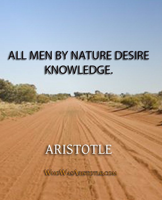 All Men By Nature Desire Knowledge 97