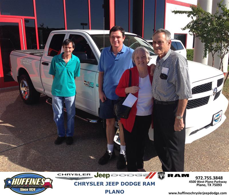 Plano Dodge: Thank You To Paul Malecki On Your New 2013 Ram 1500 From R
