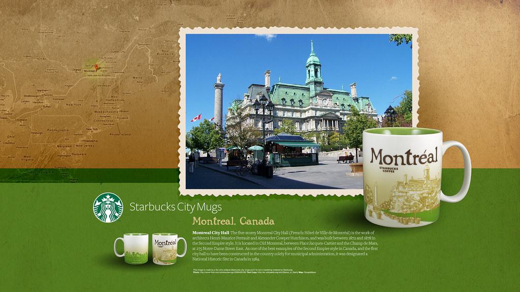 Starbucks City Mug Montreal Desktop Wallpaper  Victor Wong Flickr