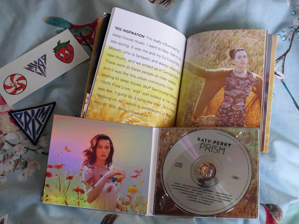"Katy Perry ""Prism"" deluxe CD & Zinepak edition albums 