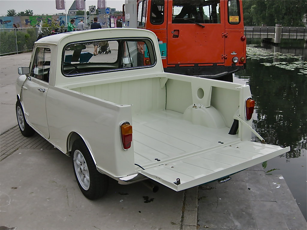1965 austin morris mini mk1 pick up it is not clear to. Black Bedroom Furniture Sets. Home Design Ideas