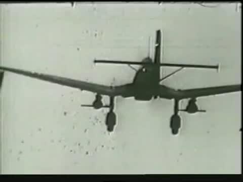 WW2 Rudel STUKA JU87 (D-3) G-1 BEST RARE GUNCAM FOOTAGE