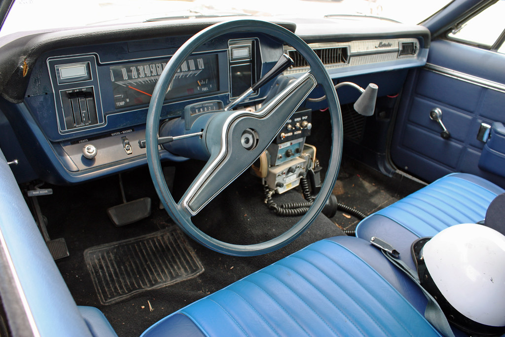 Pictures Of Corvettes >> 1971 AMC Matador 4-Door Sedan Police Car (3 of 6 ...
