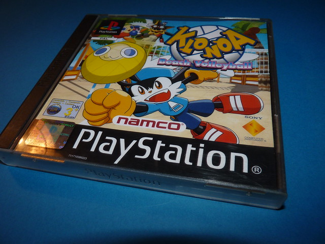 Klonoa Beach Volleyball PS1 Playstation 1