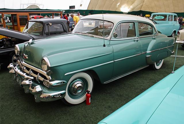 1954 chevrolet deluxe 210 4 door sedan 4 of 6 flickr