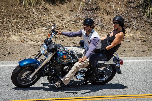 Harley-Davidson on Mulholland Highway