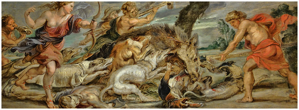 The Calydonian Boar Hunt By Peter Paul Rubens The