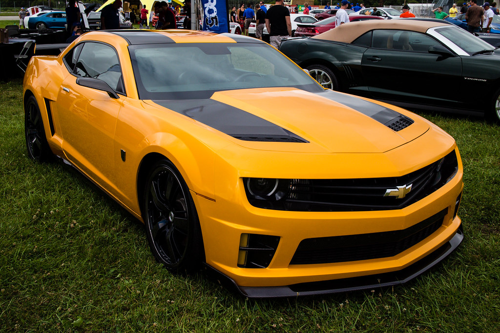 Bumblebee Camaro At Camaro 5 Fest 2013 In Indianapolis