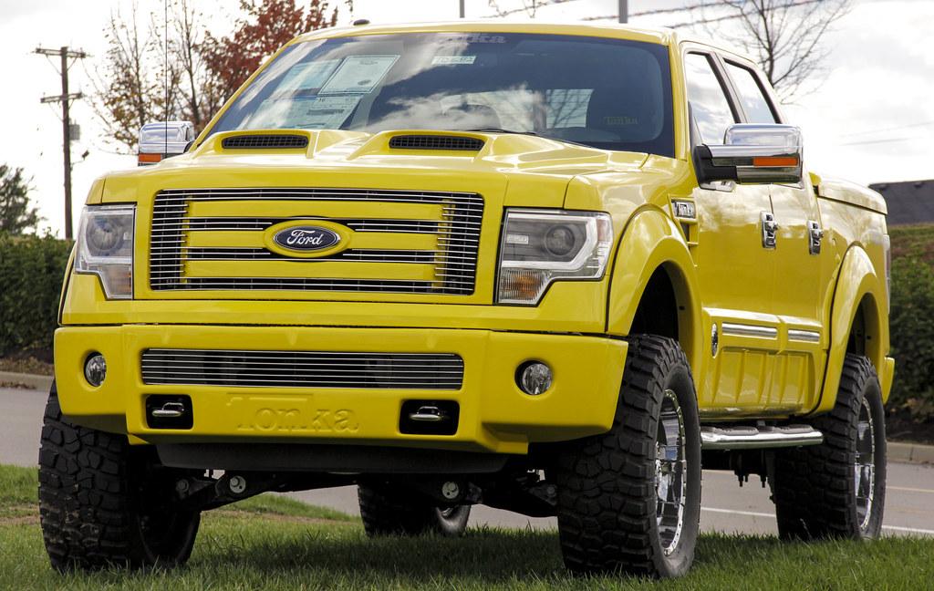 Ford Tonka Truck F 150 | Yellow Ford F-150 Tonka Truck ...