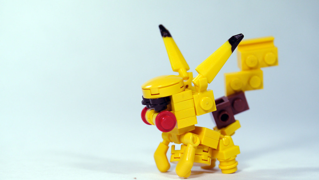 Lego Pikachu Pokemon See How To Build It Www Youtube Co Flickr