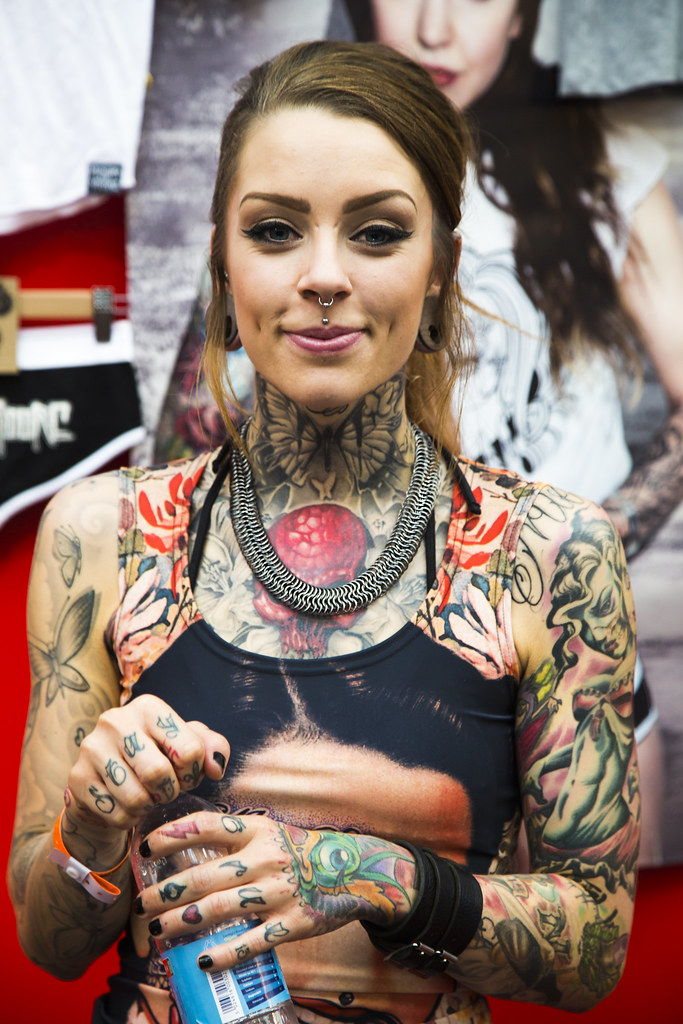 The great british tattoo show toni moore oh dobson for Tattoo model jobs