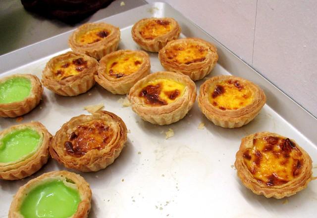 Hong Kong Puff Portuguese egg tarts