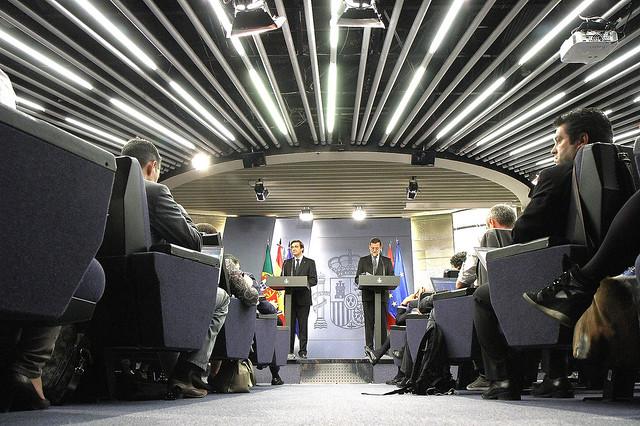 Xxvi cumbre hispano portuguesa flickr photo sharing for Sala 0 palacio de la prensa