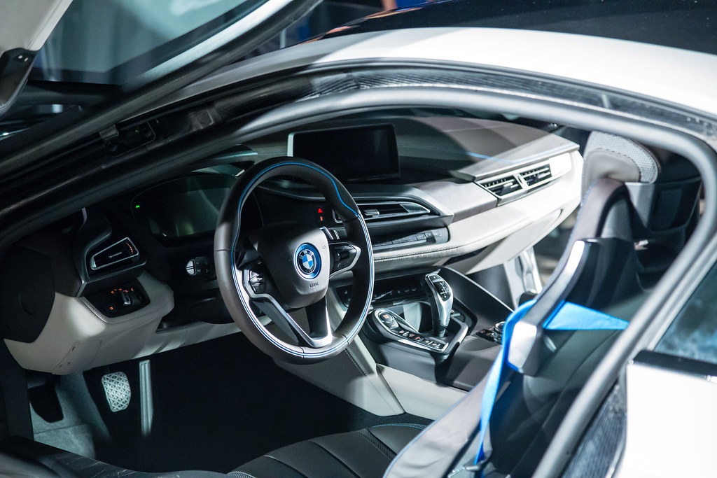 BMW I8 Interior | A Relatively Close Shot Of The Beautiful Bu2026 | Flickr