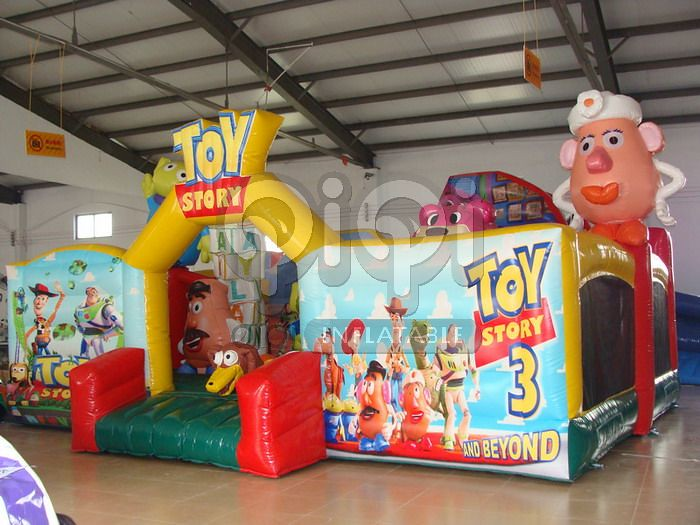 Toy Story Playground : Inflatable indoor toy story playground qiqi