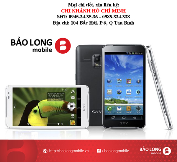 Người sử dụng tại SG nên lưu ý gì khi chọn lựa smartphone Sky A830?