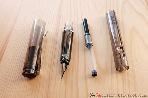 Jinhao 599 Fountain Pen component parts