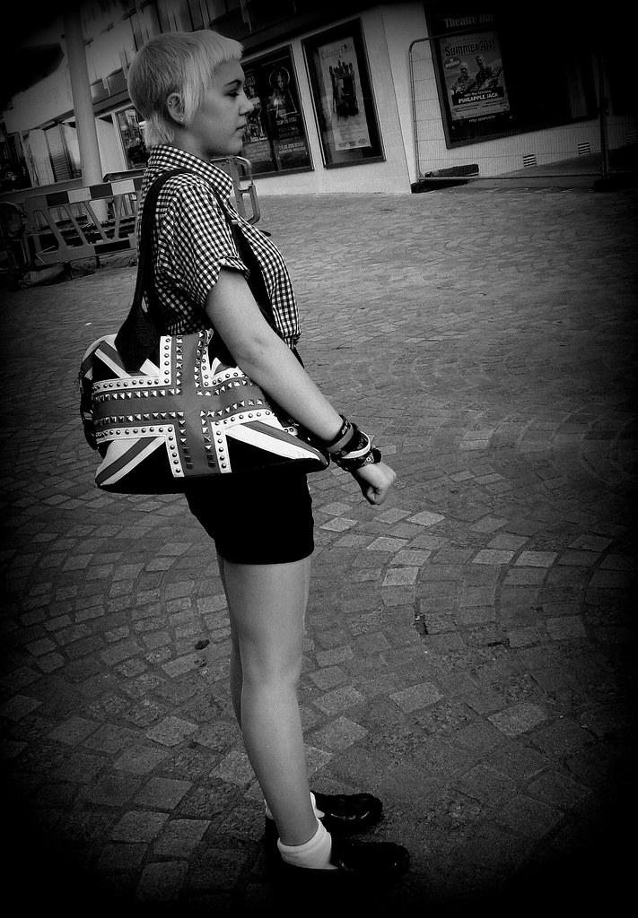 Skinhead Girl England Barry Delaney Flickr