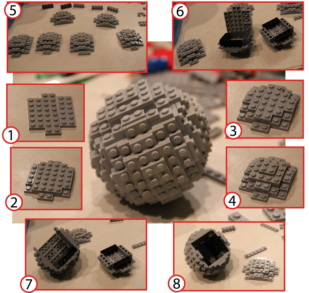 Lego sphere building instructions how to build a lego for What is needed to build a house