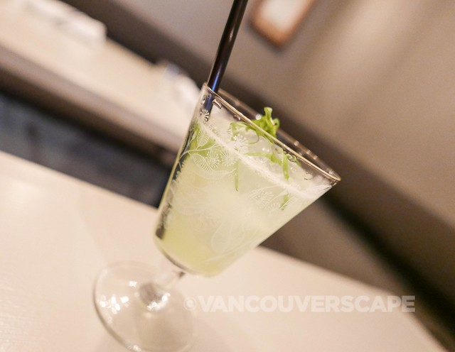 Grapes and Soda: The Green Collins: G'vine gin, lemon juice, soda, sorrel