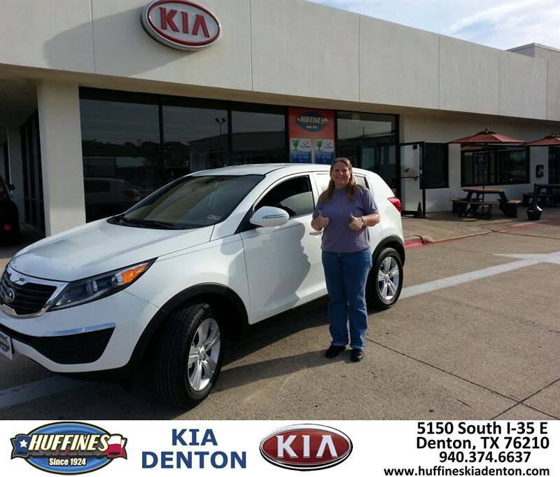 Thank You To Traci Smith On Your New 2013 Kia Sportage F
