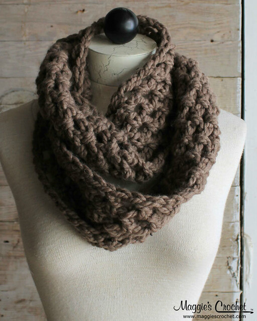 Crochet Scarf Patterns Quick : Thick & Quick Infinity Scarves & Cowls Crochet Pattern PB140 Flickr...