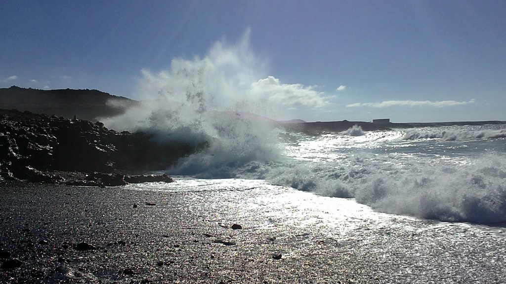 Waves in Lanzarote