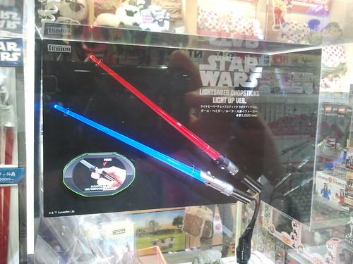 Palillos de Star Wars
