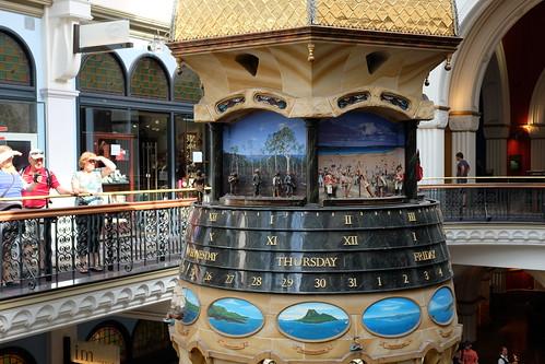 marionette clock Queen Victoria Building (QVB) 13