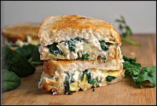 Spinach and Artichoke Melts 1