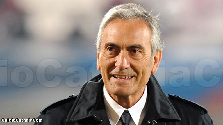 Il presidente della Lega Pro, Gravina