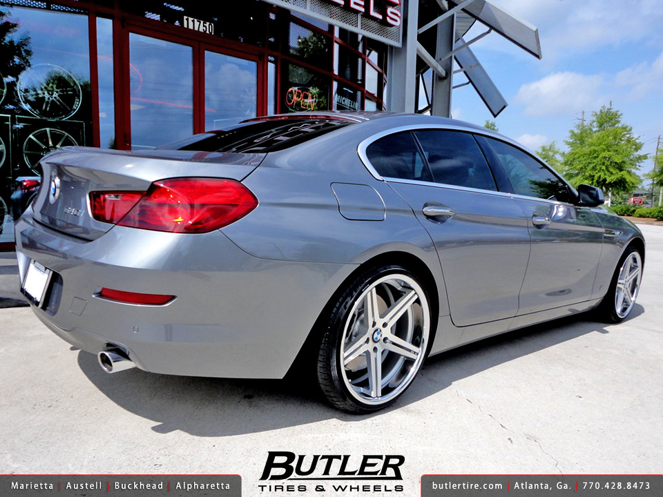 Bmw 640i Gran Coupe With 20in Tsw Mirabeau Wheels Addition Flickr